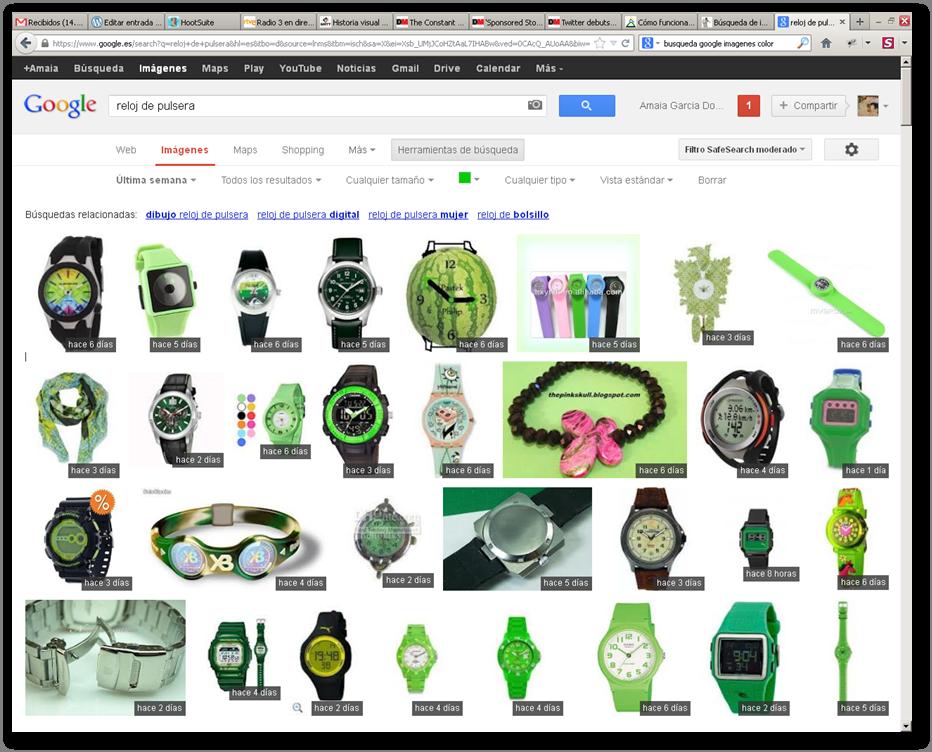Busqueda google fecha-color