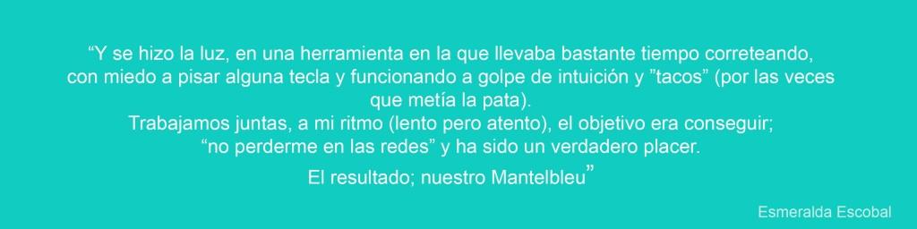 cita Esmeralda Mantelbleu