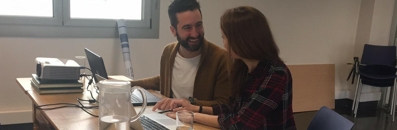 Formación personalizada y apoyo en la creación de su nueva web: Grupo CDB