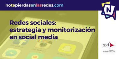 Curso de estrategia y monitorización en social media