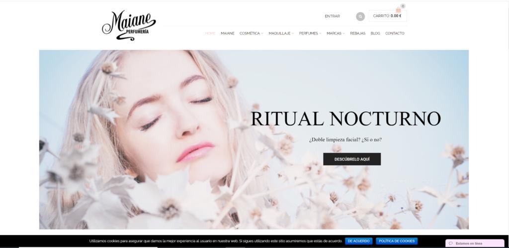 eus-COMMERCE Perfumería Maiane