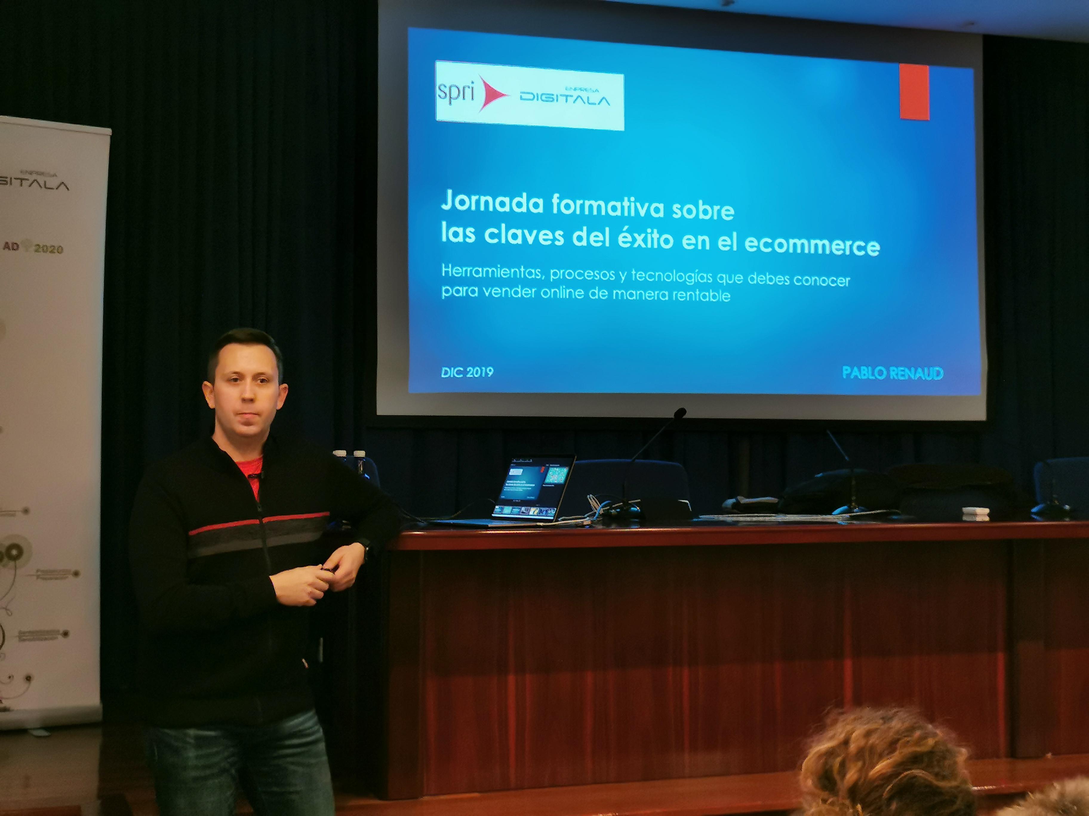 Las claves del éxito de la venta online explicadas por el especialista en ecommerce Pablo Renaud